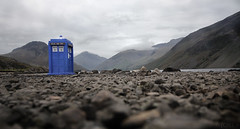 Tardis Wasdale (Tour of the Tardis) Tags: park fiction england sky lake mountains water rock rocks great wide lakedistrict deep science national doctorwho cumbria scafell tardis pike wastwater gable knott wasdale symonds deepest screes lingmell yewbarrow