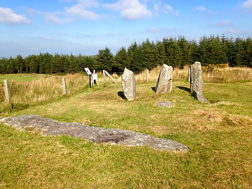 Knocknakilla stone circle (4)
