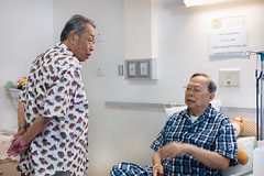 The two uncles (@pigstagram) Tags: hospital patience siriraj