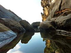 La Crique (Naim H) Tags: beach la playa panasonic plage algrie crique jijel tz7