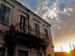 bright loneliness, Cefalonia (Aiils) Tags: trip travel sunset sky sun home canon casa tramonto loneliness greece grecia viaggi viaggio abbandono cefalonia
