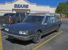 R.I.P. (buickstyle232) Tags: sears hearse oldsmobile ninetyeight salinaks centralmall customcoach oldsninetyeight oldgeneralmotorscars