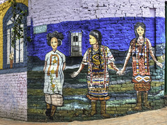 Bogota Graffiti Tour Series (Bernai Velarde-Light Seeker) Tags: street urban art america painting graffiti calle colombia bogota arte south arts urbanart sur urbano pintura callejero arteurbano cundinamarca velarde lacandelaria bernai bernaivelarde
