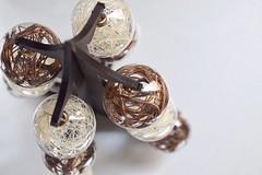 Mini Christmas balls (Paco RM) Tags: christmas brown tree navidad balls esferas