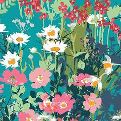 LAH-26800  Mother's Garden Rich (Art Gallery Fabrics) Tags: lavish katarinaroccella