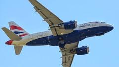 Flying the Flag (Martyn William's Aircraft) Tags: gloucestershire airbus britishairways airbus319 raffairford nikond810 martynwilliam nikonafs300mmf28gvrlens riat2015
