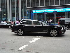 Bentley Mulsanne (JLaw45) Tags: new york united states nyc city urban metro road street northeast america state north metropolis vehicle midtown mid town manhattan island avenue big apple metropolitan area usa bentley mulsanne sedan limo luxury wealth affluent england english black saloon europe european import worldcars
