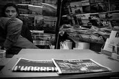L'HORREUR (s.sau3) Tags: street portrait people urban white black paris france love europe like bn