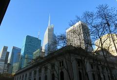 Saturday Colours - An Afternoon in New York (Pushapoze (nmp)) Tags: newyorkcity skyline newyorkpubliclibrary bryantpark condenastbuilding gracebuilding xmas2015
