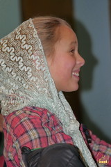 28. Humanitarian assistance for refugees at Svyatogorsk Lavra / Раздача гуманитарной помощи беженцам Лавры