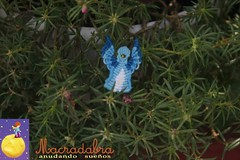 Angelito azul (Macradabra) Tags: azul angel navidad handmade comunion regalitos decoracion macram recordatorios macradabra