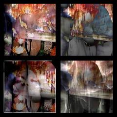 356. psyco xmas market I - IV (joe.laut) Tags: xmas photoshop square four erotic market 4 visit psychedelic dezember processed kiel quattro 2015 project366 joelaut 3652015
