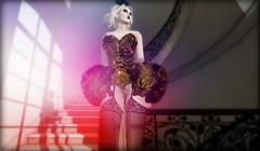 B E N D E R Freaky Goddess (B E N D E R & FasterPussycatFashion) Tags: originalmesh mesh corset lingerie fetishfashion bender honeybender secondlife secondlifestyle secondlifefashion burlesque carnivale nylons garters icons fashion couture courturemesh