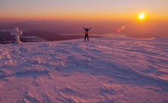 Troglav (Leonardo Đogaš) Tags: troglav sunset outdoor dusk croatia leonardo đogaš winter svilaja peručko jezero hrvatska zalazak snow chrismas