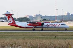 D-ABQN - 2006 build Bombardier Dash 8-402, arriving on Runway 07 at Stuttgart (egcc) Tags: 4124 ab airberlin ber bombardier cfeuf dabqn dh8d dhc dash8 dash8402 dehavillandcanada edds echterdingen hk4725 hk4725x hl5252 lgw lightroom luftfahrtgesellschaftwalter str stuttgart