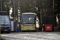 YJ08 ECX (markkirk85) Tags: bus buses coaches coach vdl sb4000 berkhof axial 50 bennetts new bm hayes 62008 yj08 ecx yj08ecx