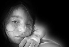 Dreamy (dkiara49) Tags: iranian girl young lady sony blackwhite