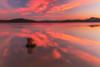 Atardecer en Landa (Alfredo.Ruiz) Tags: ullibarriganboa reflections clouds sunset lake landscape nature spain sky water reservoir