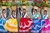 Wedding Dancers, Oaxaca (Geraint Rowland Photography) Tags: mexicans mexicanwomen girls women dresses indigenousmexicans oaxaca basilicaofourladyofsolitudechurchinthecityofoaxaca mexico colours colourful weddingtravel travelphotography geraintrowlandphotography flowers beautiful canon 50mm