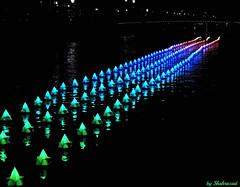 Floating rainbow (Shahrazad26) Tags: amsterdamlightfestival amsterdam colors couleurs farben kleuren watorcolors nederland holland thenetherlands paysbas noordholland