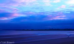 South beach sunset 6 (Leo Bissett) Tags: southbeachrushsunset dunes beach portrane donabate evening sunset sea water coast sand bluehour erosion sky walker