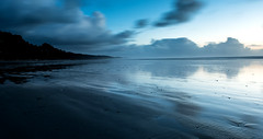 Slow Blue (jfusion61) Tags: washington pacific ocean coast fog storm water nikon d810 2470mm reflection clouds long exposure panorama beach blue sunset outdoor landscape