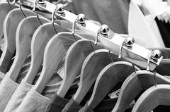 Rail (Alex . Wendes) Tags: rail hangers hooks bw blackandwhite tokina1116mm tokina1116 d7000 nikond7000