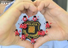Marato donació sang (Mossos. Generalitat de Catalunya) Tags: escut uniformitat