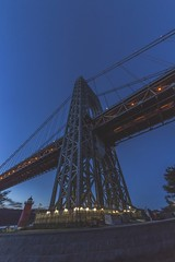 Not Lit!  #NewYork #City #GeorgeWashingtonBridge #Streets #Architecture #Bridge #NightPhotography #NightShot #Night #LongExposure #Urban #UrbanExplorer #Urbex #StreetPhotography #Manhattan #NewYorkCity #NYNY (kallyone) Tags: night architecture manhattan urbanexplorer streets urbex newyork nightphotography nightshot nyny bridge newyorkcity streetphotography longexposure urban georgewashingtonbridge city