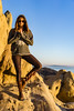 Yoga & Rock Climbing ((Jessica)) Tags: malibu goldenhour corralcanyon la california losangeles yoga rocks rockclimbing rock sandstone geology yogapose treepose cool sunglasses woman view ocean outdoors hiking hike inspiration nature active lifestyle vrksasana