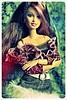 Img_5503 (GreenWorldMiniatures) Tags: barbie fashionfever drew animalprint madetomove mtm bluetop animalprintcollection