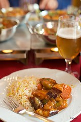 Late lunch (Kym.) Tags: andalucía andalusia curry curryhouse day8 indian latelunch nerja rice spain vegetablecurry veggie somebodyelseskitchen