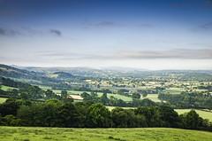 Vale of Clwyd (Lukasz Lukomski) Tags: valley vale dolina clwyd wales walia cymru uk unitedkingdom greatbritain wielkabrytania landscape krajobraz europe europa lukaszlukomski nikond7000 digital green fields sky clouds chmury niebo