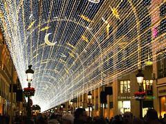 C/ Larios. Malaga (josé luis Zueras) Tags: luces navidad iliminación calles ciudades málaga andalucía españa joséluiszueras olympuse500 nocturnas urbanas