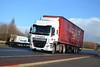 DAF CF 'XPO Logistics' reg PN66 RBU (erfmike51) Tags: dafcf truck artic curtainside euro6 lorry xpologistics