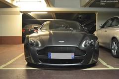 Aston Martin V8 Vantage Roadster (Monde-Auto Passion Photos) Tags: auto automobile voiture véhicule aston martin astonmartin v8 vantage roadster cabriolet spider france paris parking supercar sportive