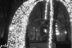 66-9027 (qauqe) Tags: vsco vscocam portra lightroom photography night time black white graffiti street urban old town tallinn estonia car vintage retro lights flare bokeh architecture tribe archipelago lxc kevin klein kln presets panorama