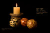 Week 2 - SOOC (RedHatGal: Barbara Butler/FireCreek Photography) Tags: sooc candle decoratorballs stilllife blackbackground candlelight indoor barbarabutlerphotography firecreekphotography redhatgal dogwood52 dogwood2017 dogwood52week2