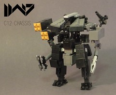 C12 -2 (Dryvvall) Tags: drone dronuary robot walker mech