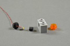 Pico LEDs in Technic Bricks (brickstuff) Tags: technic lego lights led