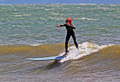 Hjälmförsedd 1 (Quo Vadis2010) Tags: westcoast västkusten kattegatt hallandslän halland municipalityofhalmstad halmstadkommun halmstad sandhamn görvik cityofsurfers wavesurfing wavesurf vågsurfing vågsurf surfing surf vågor våg sea hav beach strand surfbräda bräda sport activity aktivitet lifestyle livsstil se