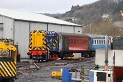 08588 Weardale Railway (Paul Emma) Tags: uk england railway railroad weardalerailway wolsingham heritagerailway 31465 08588 08613 class31