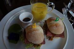 Roast beef sandwich (pelican) Tags: dscrx100 roastbeefsandwich harajuku tokyo