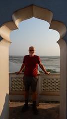 John at Neermahal Palace (John Steedman) Tags: rudrasagarlake melagarh rudrasagar tripura northeast india neermahal palace