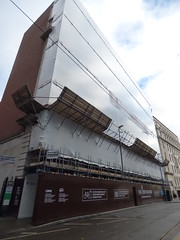 The Lewis Building - Bull Street, Birmingham (ell brown) Tags: birmingham westmidlands unitedkingdom greatbritain bullst bullstbirmingham constructionsite buildingsite theminories lewiss thelewisbuilding willmottdixon scaffolding