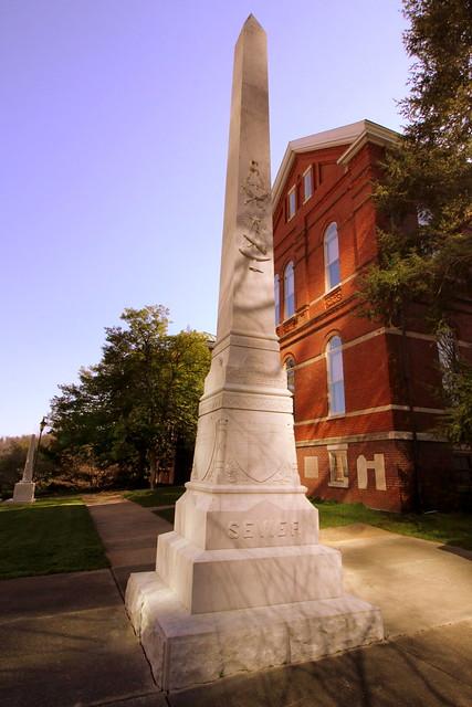 Burial Site of Gov. John Sevier - Knoxville, TN