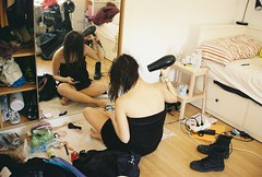 I guess I've missed the mess (ACID FOOL) Tags: candid room 35mm canon lomo analog analogue film natural light mirror bed girl towell hair teen