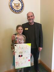 Visiting Senator McCaskill's district office