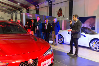 Presentación Alfa Romeo Giulia