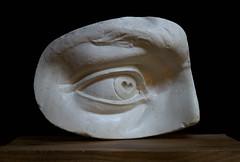 The eye of David (Renato Morselli) Tags: eye occhio david michelangelo calco gesso copia cast plaster